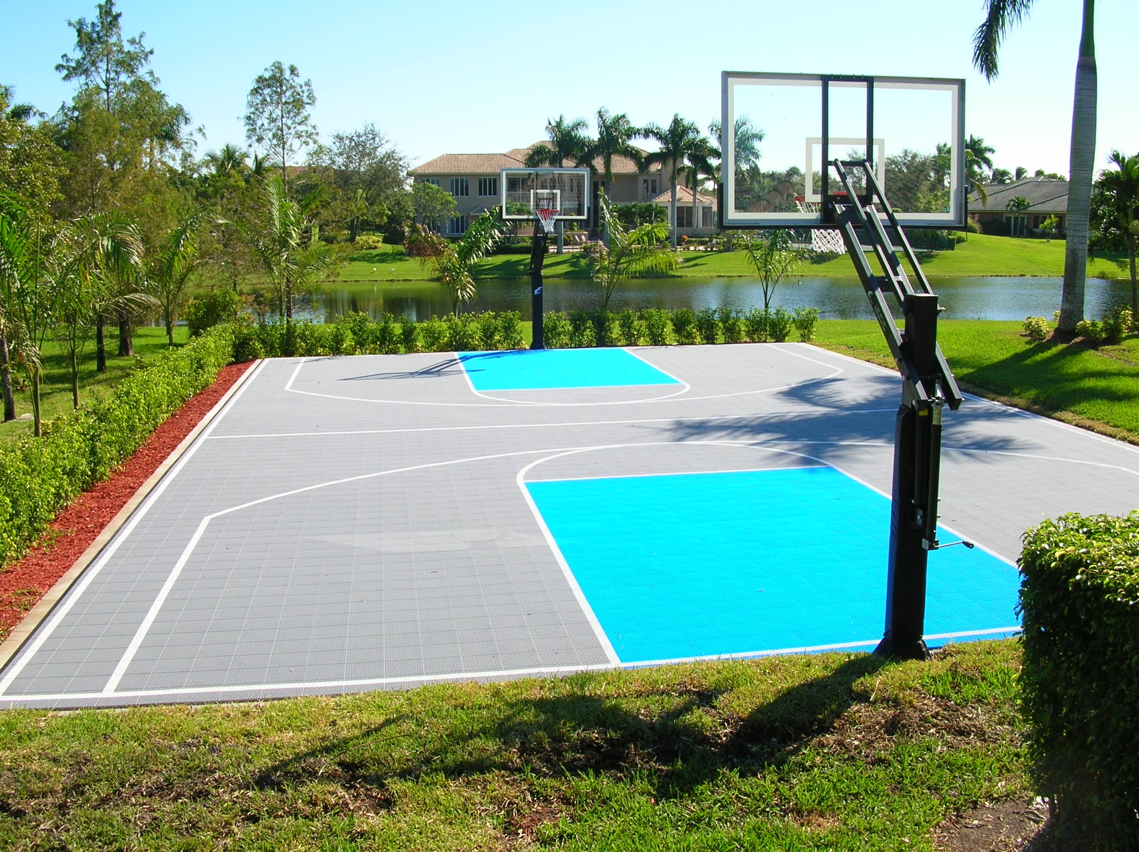 The Gallery For Outdoor Basketball Court