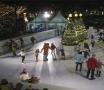 Tenjin Hikari Square skaters